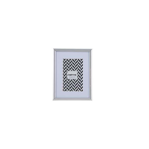 Bahne Fotoramme alu.Mål: 9x12 cm.