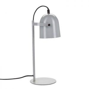 Fin bordlampe i lakeret metal