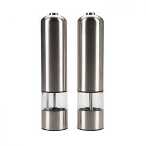 Smart elektronisk salt & peberkværn fra Bahne Interior. De elektroniske kværne har lys i.Find meget mere fra Bahne Interior ligeher.