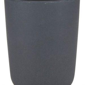 Fin kop fra Bahne Interior fremstillet af 50% bambus. Koppen er i en smuk antracitgrå farve.Koppen er 10 cm. høj og 8 cm. i diameter.