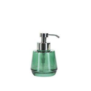 Farve: Oliven m/sølvMateriale: Glas