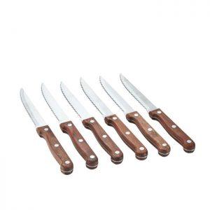 6 steakknive i klassisk og tidløst design som passer ind hos alle.Find meget mere køkkenudstyr fra Bahne Interiorher.