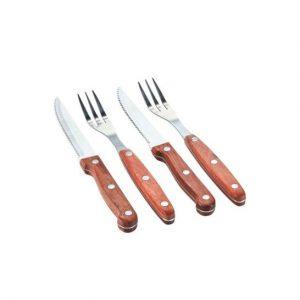 Steaksæt med 2 sæt. Sættet er klassisk og tidløst steaksæt som passer ind hos alle.Find meget mere køkkenudstyr fra Bahne Interiorher.